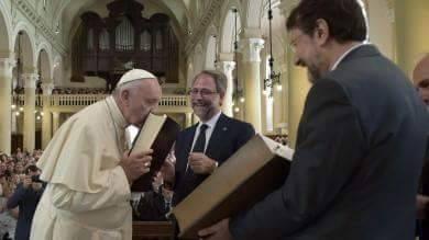 Bergoglio, discorso ai Valdesi: un precursore dell'Anticristo?