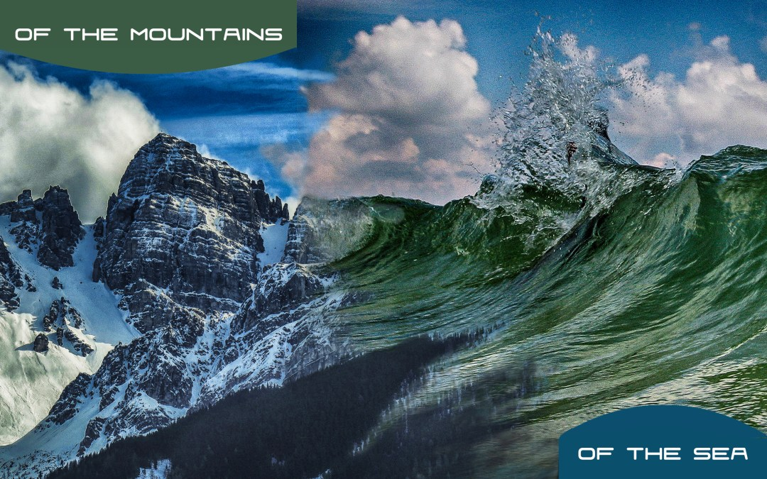 Tonight on Around the Campfire @6pm – Mountains and Sea