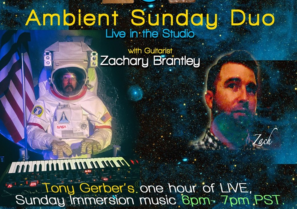 Ambient Sunday tonight at 6 pm – on the air and on YouTube!