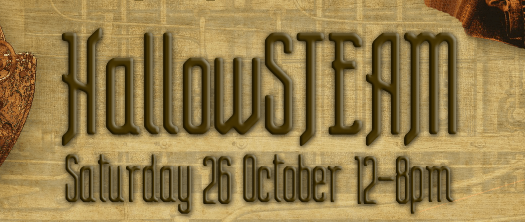 TODAY! HallowSTEAM – live music marathon!