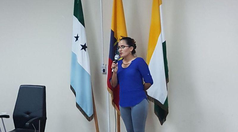 En la rueda de prensa desarrollada el pasado lunes 4 de septiembre se dio a conocer la nueva administradora del centro de atención ciudadana de Nueva Loja.