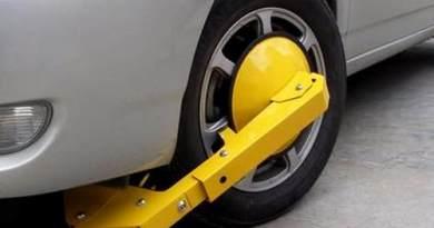 Candados a partir de noviembre de 2017 el municipio del cantón Lago Agrio, implementará candados a vehículos que no respeten el horario de estacionamiento.