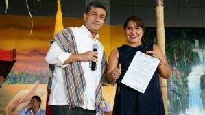 Alcaldesa del cantón Putumayo cuestiona por la desatención a sus gestiones