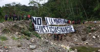 Suspensión definitiva de la minería piden Organizaciones Sociales
