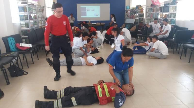Más de 1200 estudiantes de la Amazonía serán capacitados en protección civil