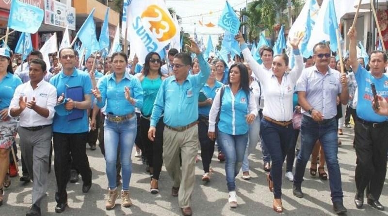 Candidatos y candidatas de la alianza Suma - Acuerdo Ciudadano se inscribieron en el CNE