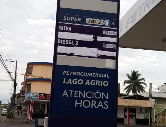 Ciudadanos de Lago Agrio sienten el incremento de los combustibles