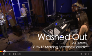 Washed Out on KCRW YouTube video