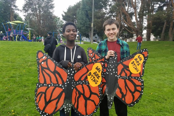 Climate March Children