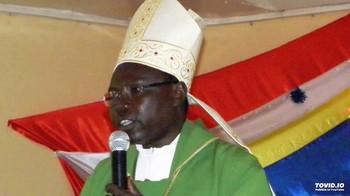 File photo: Bishop Santo Laku Pio