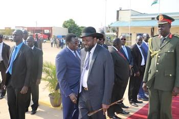 File photo: President Kiir