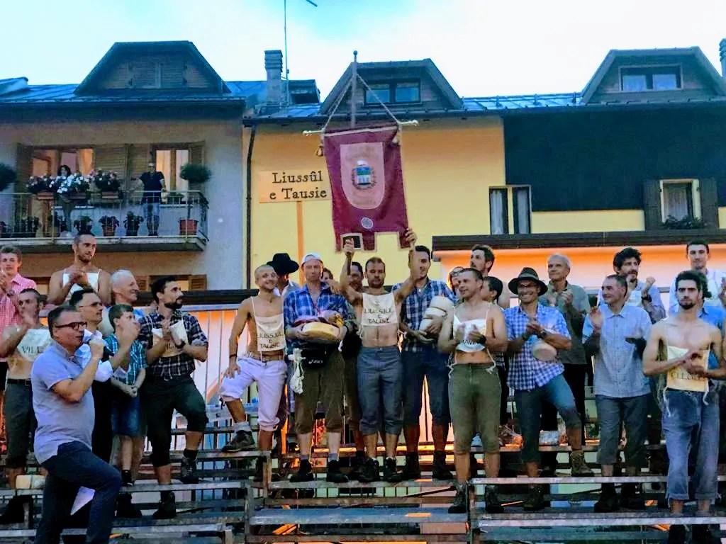 Liussul e Tausie vince la 35esima edizione del Palio das Cjarogiules – Risultati Finali