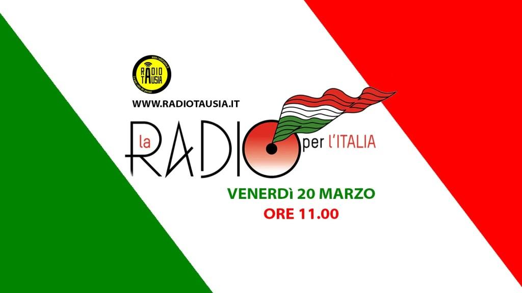 La Radio per l'Italia, anche noi ci siamo!