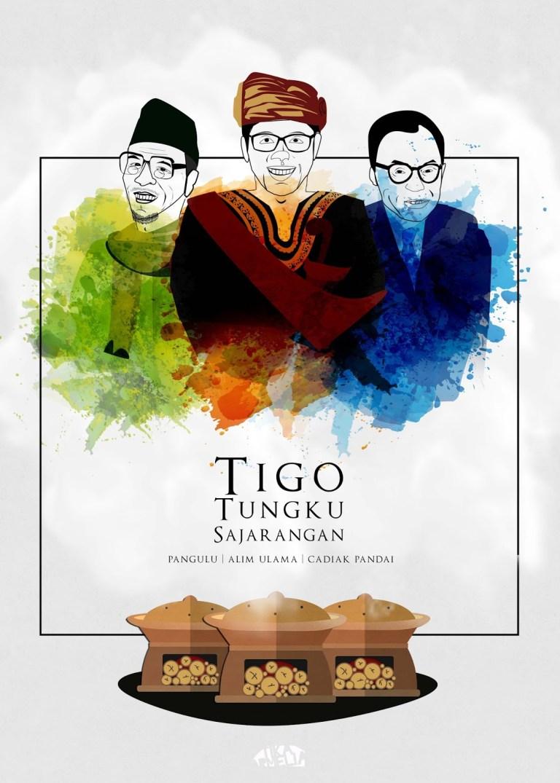 """TUNGKU TIGO SAJARANGAN"" Bentuk Kepemimpinan Utuh di Sumatera Barat"