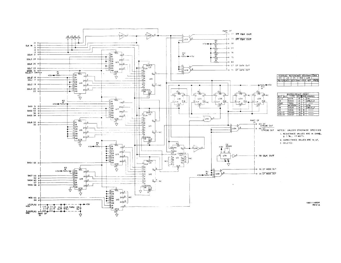 hight resolution of parallel to serial converter cca a1 schematic diagram