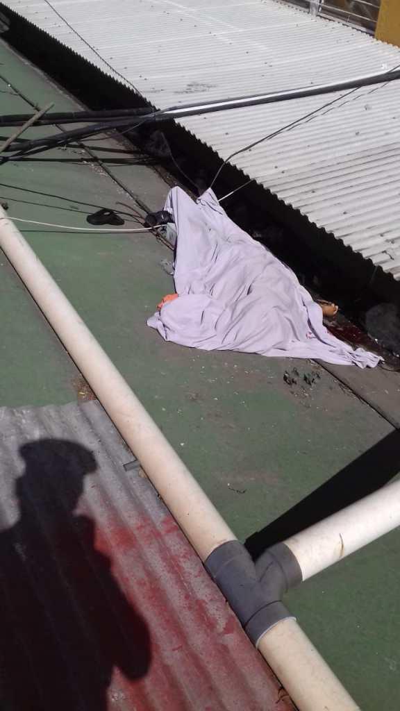 Paciente se lanzó de la terraza del hospital roosevelt