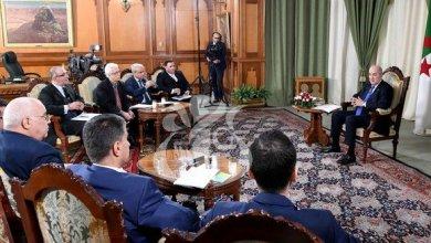 صورة النص الكامل للمقابلة الصحفية التي أجراها الرئيس تبون مع مجموعة وسائل الإعلامية الوطنية