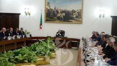 صورة الرئيس تبون يترأس إجتماعا لمجلس الوزراء هذا الأحد