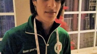 صورة الملاكمة النسوية: خليف إيمان في الدور النصف النهائي