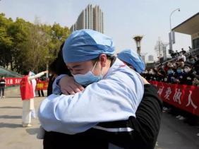 صورة منظمة الصحة العالمية: الصين تبعث على الأمل بالانتصار على الوباء