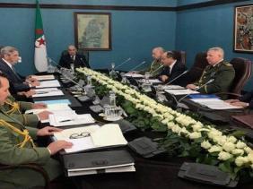 صورة رئاسة الجمهورية: بيان اجتماع المجلس الأعلى للأمن حول فيروس كورونا