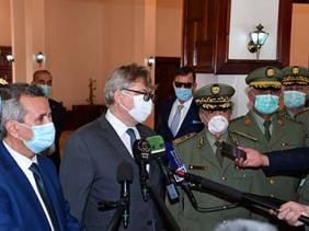 صورة كورونا: الجزائر تتسلم شحنة هبة من المعدات الطبية قادمة من روسيا
