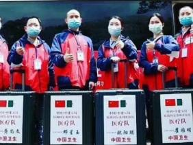 """صورة قائد فريق الخبراء الطبي الصيني: الوضعية الوبائية بالجزائر """"مستقرة و تحت السيطرة"""""""
