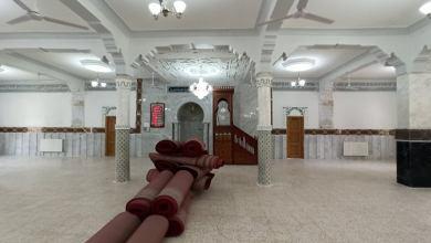 صورة كوفيد 19: حملة واسعة لتعقيم مساجد الولاية
