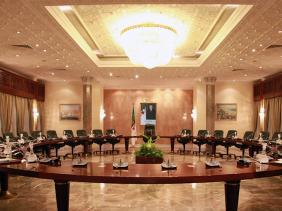 صورة الوزير الأول جراد يترأس اجتماعا للحكومة
