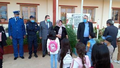 صورة الدخول المدرسي بابتدائية الشهيدة حسيبة بن بوعلي بالسوقر