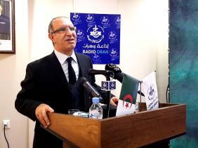 صورة المدير العام للإذاعة الجزائرية محمد بغالي يشيد بجهود الإعلاميين خلال جائحة كورونا