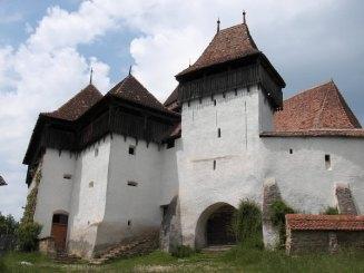 1 - Galerie Cetate, intrarea in Cetatea Viscri