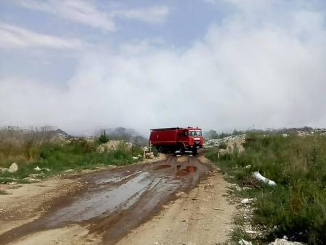 incendiu groapa Lipova (5)