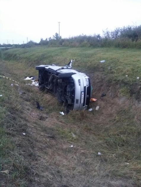 accident microbuz Sannicolau Mare (2)