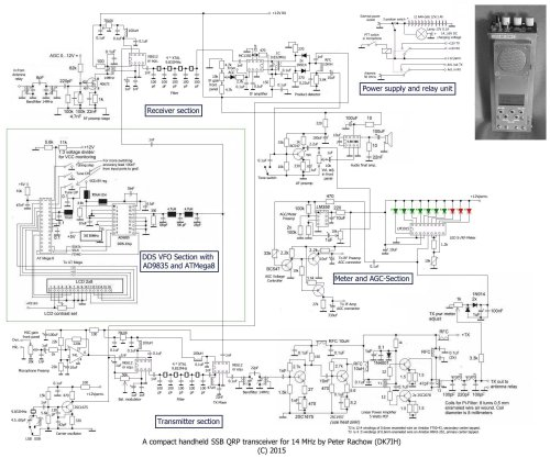 small resolution of revised schematic of qrp ssb handheld transceiver for 14 mhz 20meter by dk7ih peter