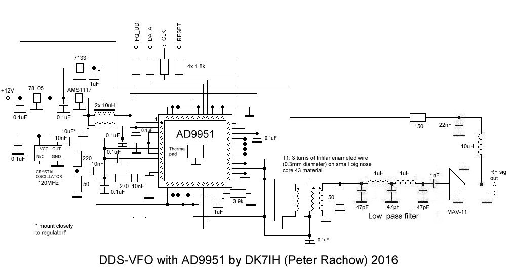 Simple Qrp Transceiver Circuit Diagrams : 39 Wiring