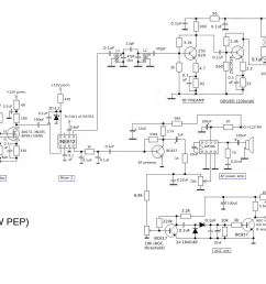 amateur radio engineering projects peter rachow dk7ih amateur fig 416 block diagram of ssb transmitter [ 2355 x 939 Pixel ]