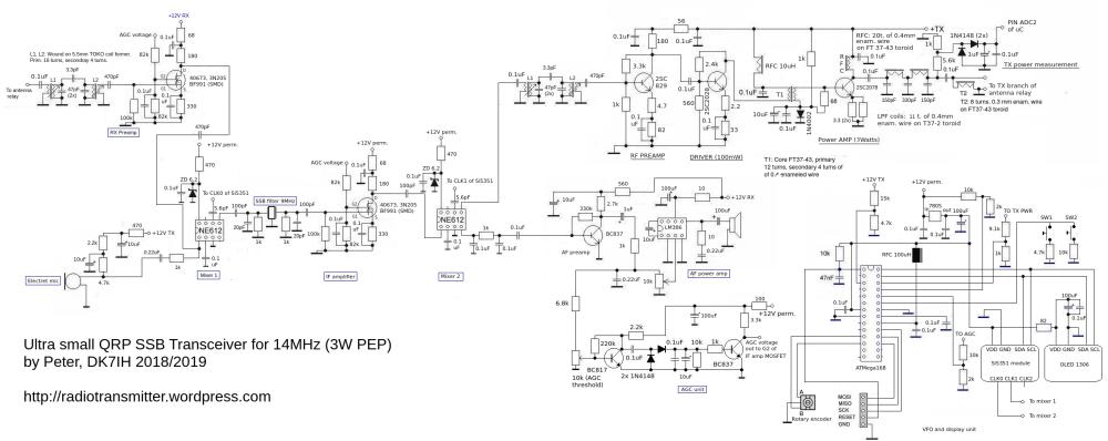 medium resolution of amateur radio engineering projects peter rachow dk7ih amateur fig 416 block diagram of ssb transmitter