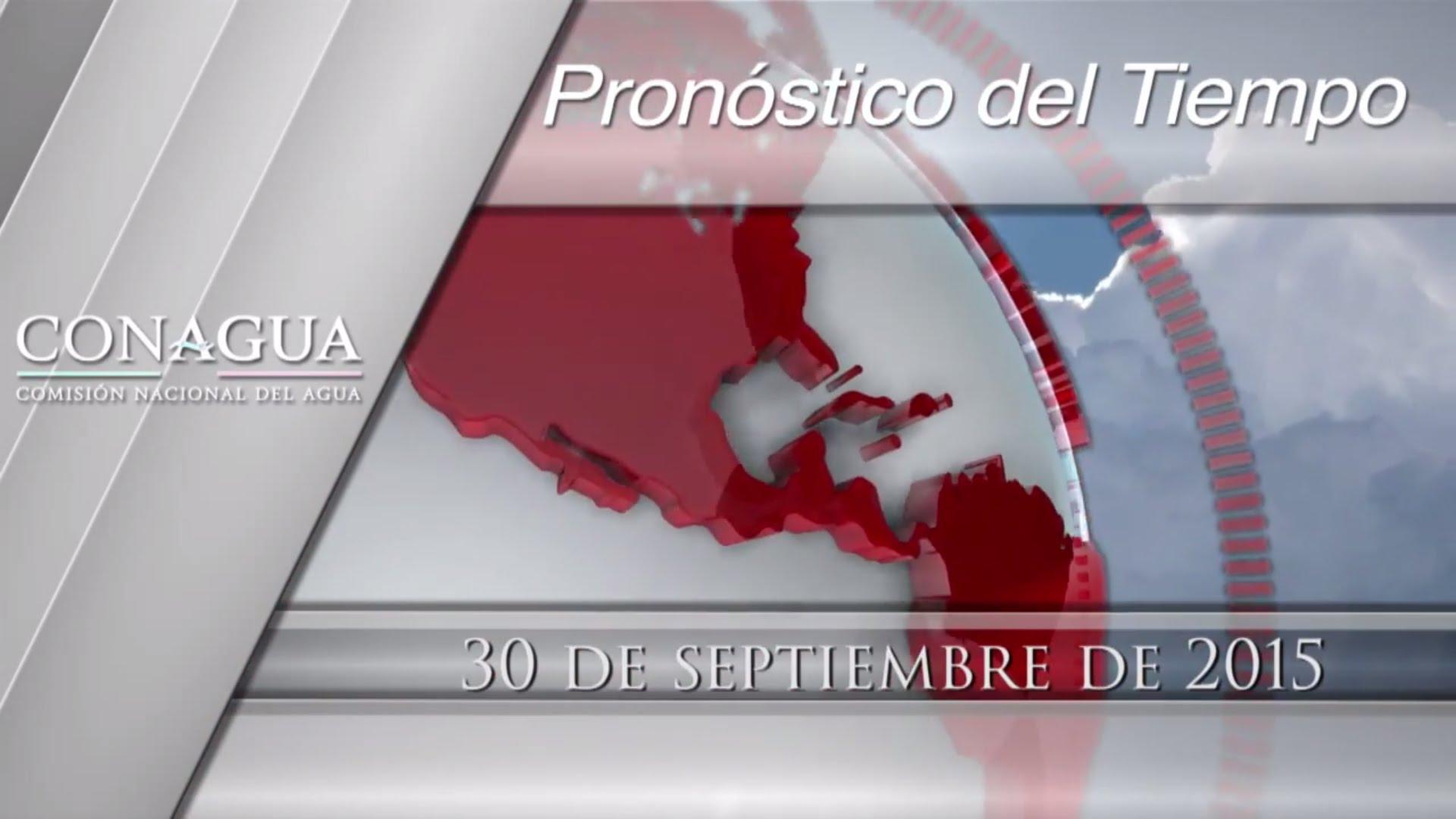 Pronstico del Tiempo en Cancun y Mxico  30 de septiembre 2015  Radio Turquesa
