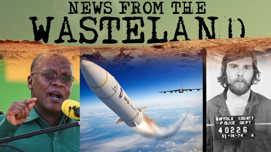 Missing Tanzanian President, Hypersonic Missile Tests, and Ronald DeFeo Jr. Dies