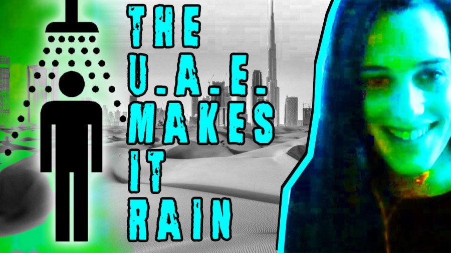 U.A.E. Creates Rain with Drones
