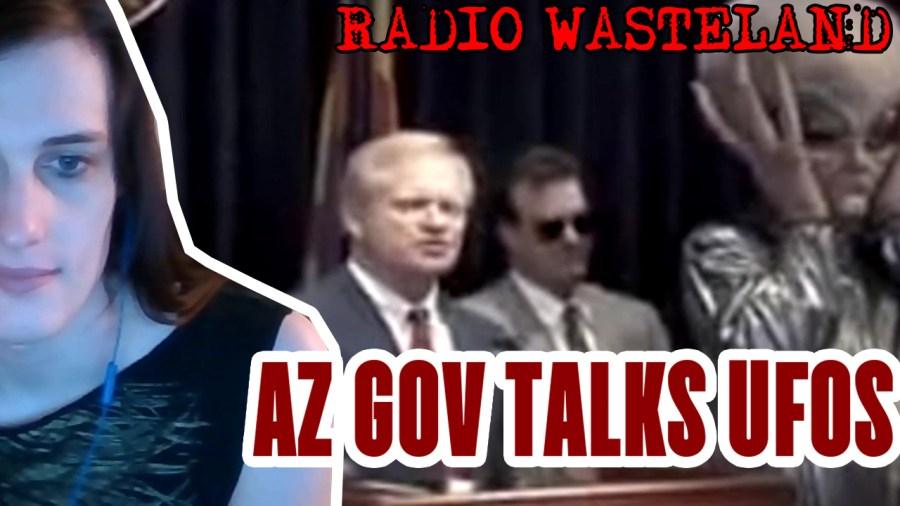 Former Arizona Governor to speak at UFO conference