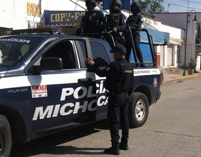 CONDENA CNDH EL MULTIHOMICIDIO DEL CONVOY POLICIAL EN MICHOACÁN