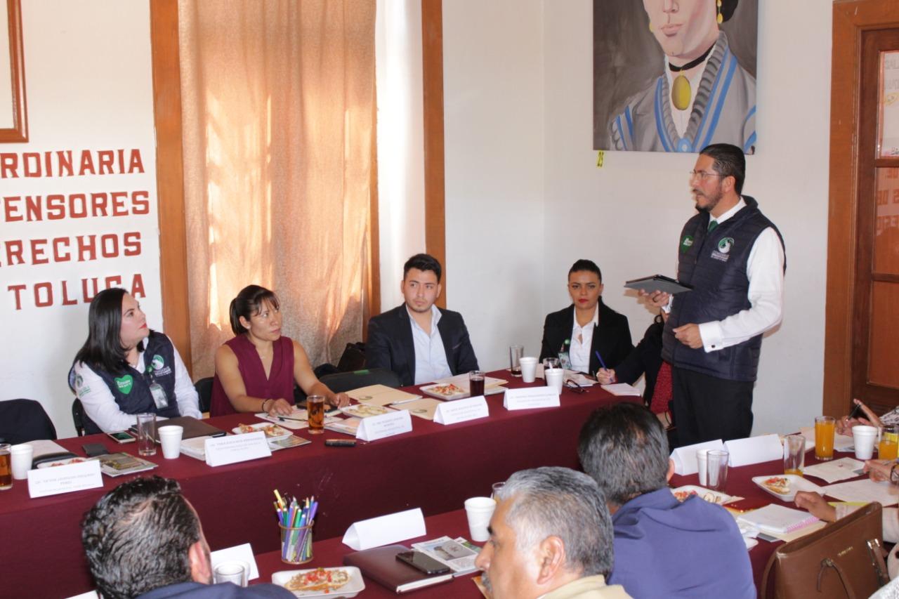 INICIA CODHEM PREPARACIÓN DE SERVIDORES PÚBLICOS DEFENSORAS MUNICIPALES