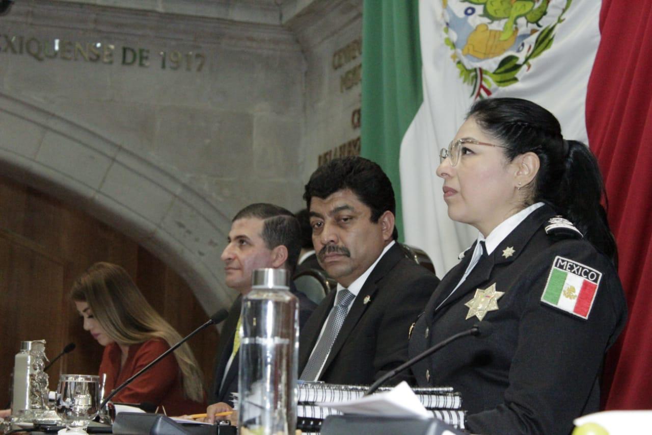 INFORMA MARIBEL CERVANTES AVANCES DE LA ESTRATEGIA INTEGRAL DE SEGURIDAD EN EDOMÉX