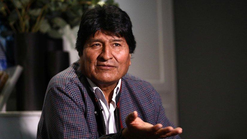 """MINISTRO DE BOLIVIA FILTRA AUDIO DONDE SE ORDENA """"NO ENTRE COMIDA"""" Y ATRIBUYE A EVO MORALES"""
