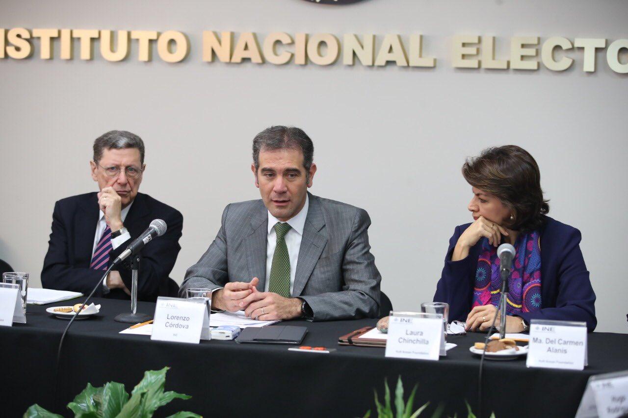 INE ADVIERTE QUE RECORTE PRESUPUESTAL PONE EN RIESGO LA ESTABILIDAD POLÍTICA  DEL PAÍS