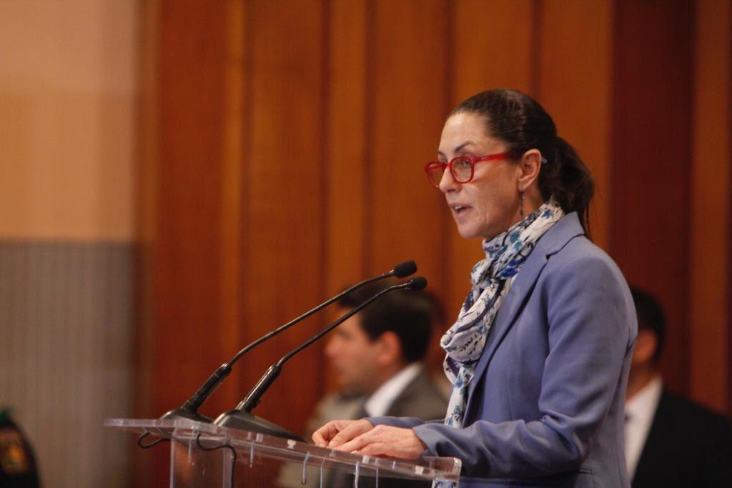 PRESUME SHEINBAUM QUE BAJARON LOS HOMICIDIOS EN LA CDMX