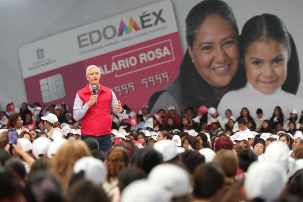 SALARIO ROSA LLEGA A MUJERES QUE NO RECIBEN ALGÚN TIPO DE APOYO SOCIAL