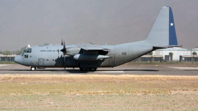 DESAPARECE AERONAVE MILITAR CON 38 PERSONAS A BORDO EN CHILE